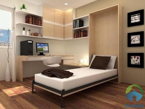 thiết kế phòng ngủ 10m2 5