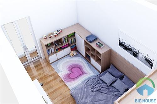 thiết kế phòng ngủ 10m2 7