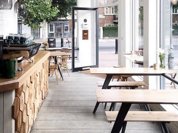 gạch nền quán cà phê 1