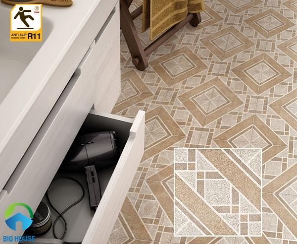 Gạch lát nền chống trơn: TOP mẫu gạch đẹp nhất cho phòng khách, nhà tắm,…