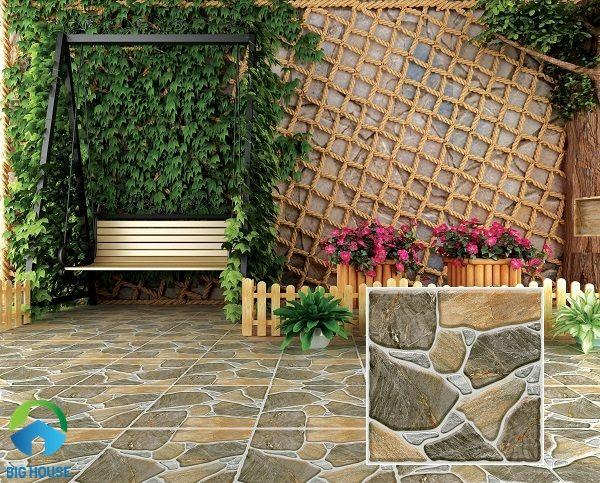 mẫugạch chống trơn Tasa mã 5811 thiết kế bề mặt định hình cho sân vườn