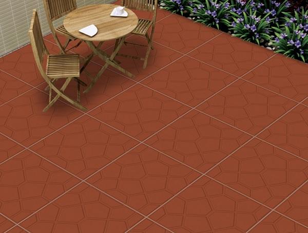 Gạch đỏ lát sân: TOP mẫu gạch chống trơn hiệu quả và bảng giá chi tiết