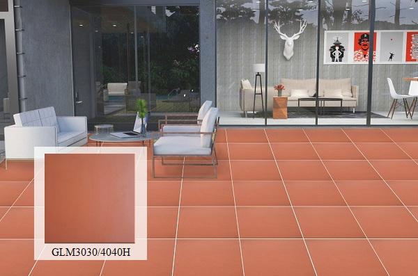 Gạch đỏ lát sân chống rêu Mikado GLM3030/4040H