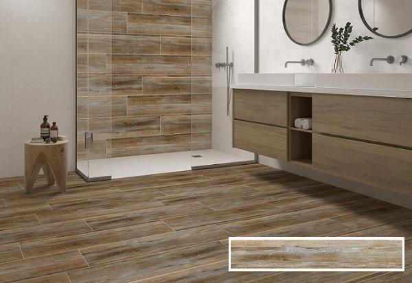 Gạch vân gỗ có tính thẩm mỹ cao và ưu điểm vượt trội