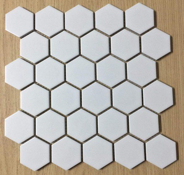 gạch mosaic hình lục giác
