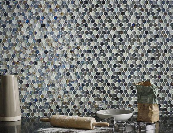 Mẫu gạch mosaic thủy tinh độc đáo