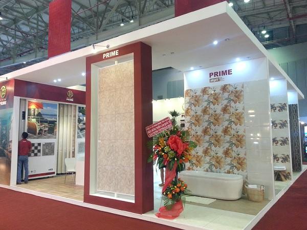 Showroom trưng bày gạch ốp lát Prime