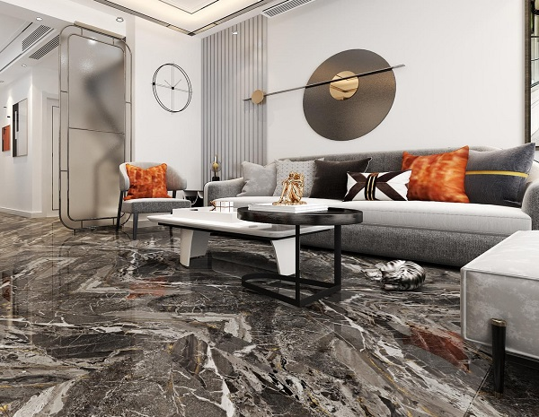 mẫu gạch lát nền nhà cấp 4 CMC PT60001 vân đá marble sang trọng, hiện đại