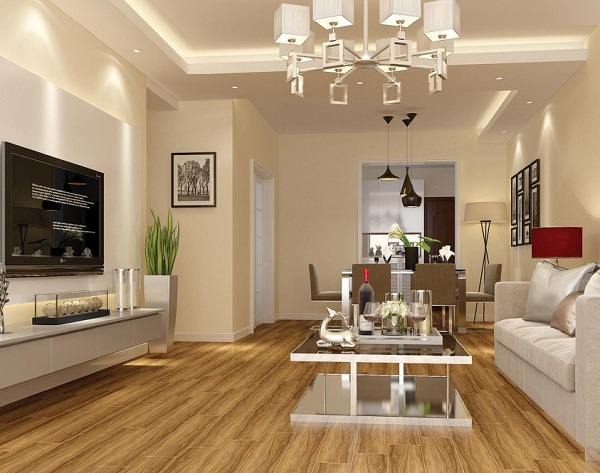Mẫu gạch giả gỗ Tasa 1583 kích thước 15x80 phù hợp cho nhà cấp 4 phong cách cổ điển