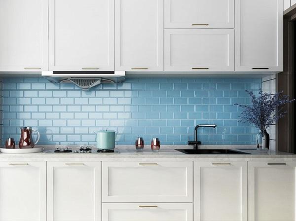 21++ mẫu gạch ốp tường nhà bếp đẹp, giá rẻ nhất 2020