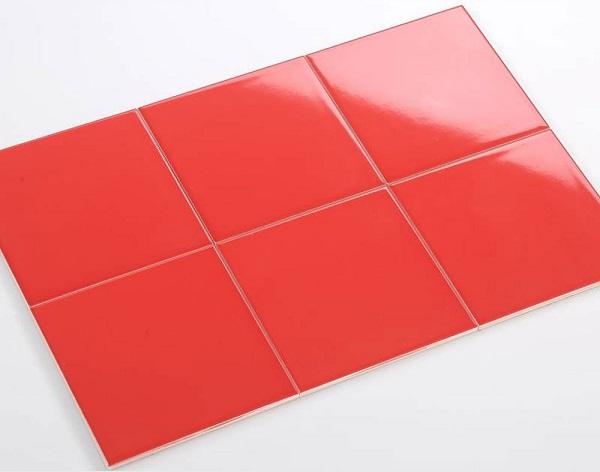 gạch thẻ ốp tường màu đỏ M151510