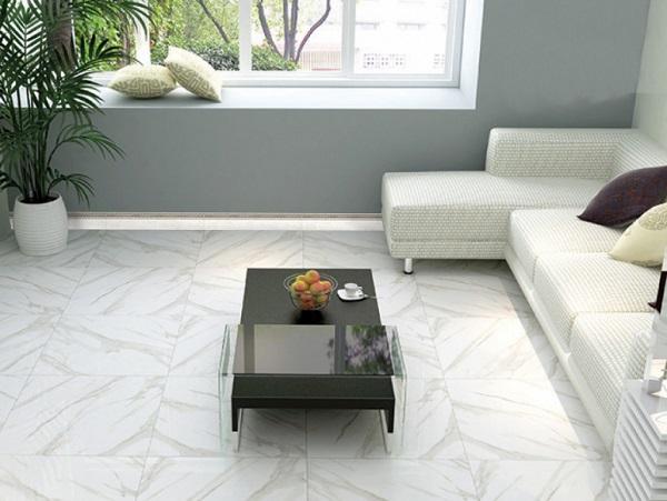 gạch prime 0961 màu trắng đẹp tinh tế và sang trọng