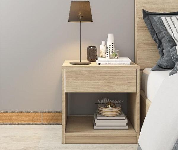 gạch len tường 12x60 prime 09634 họa tiết vân gỗ cho không gian phòng ngủ