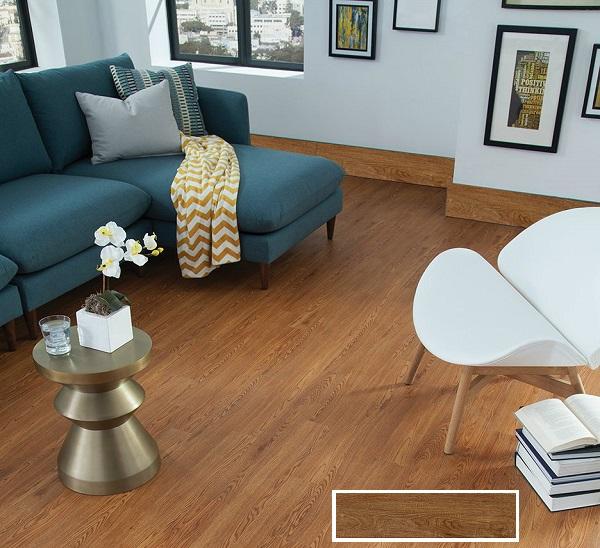 Gạch ốp chân tường 15x60 Tasa 1561 chất liệu Porcelain, vân gỗ nâu