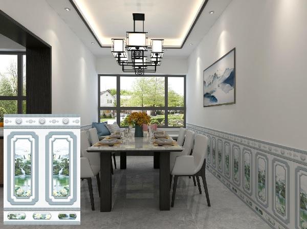 Gạch chân tường Tasa 8686 cho phòng khách thêm hiện đại