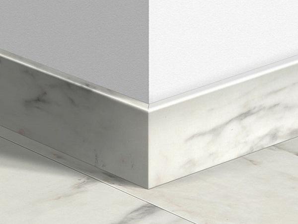 Mẫu gạch len tường vân đá trắng cho không gian thêm hiện đại