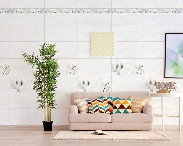 Gạch ốp tường 30x60 màu trắng prime 09950 vân dá đẹp tinh tế