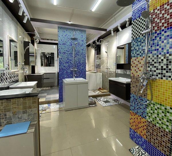 Địa chỉ mua gạch mosaic vảy cá