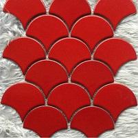 mẫu gạch YD-Y0914 màu đỏ nổi bật