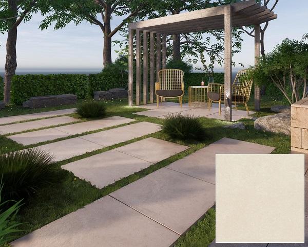 gạch viglacera pt20 g6601 lát nền cho khu vực sân vườn