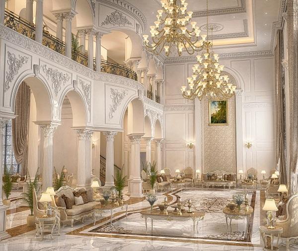 gạch thảm lát nền tiền sảnh khách sạn