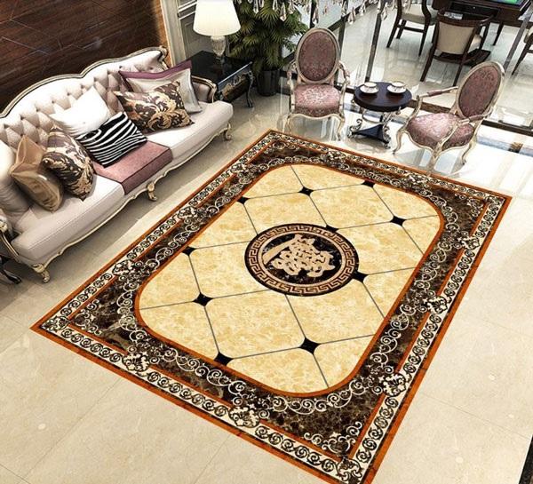 gạch thảm phòng khách trung quốc