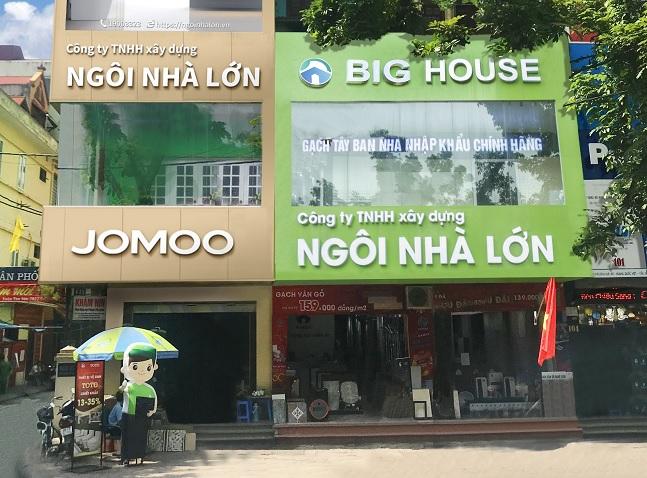 đại lý phân phối gạch thảm tiền sảnh Big House