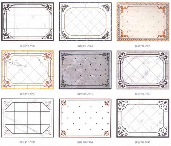 Các mẫu gạch thảm vô cực đơn giản nhưng đẹp mắt, sang trọng